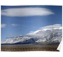Desert Then Mountains Poster