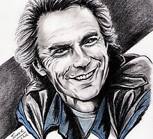 CLINT EASTWOOD smiling by jos2507