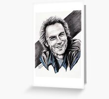 CLINT EASTWOOD smiling Greeting Card