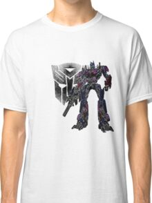 Glowing Optimus Classic T-Shirt