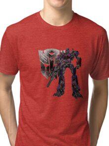 Glowing Optimus Tri-blend T-Shirt