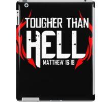 Tougher Than Hell iPad Case/Skin
