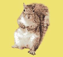 Squirrel t-shirt Kids Clothes