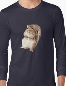 Squirrel t-shirt Long Sleeve T-Shirt