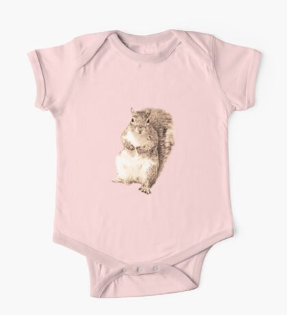 Squirrel t-shirt One Piece - Short Sleeve