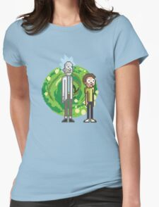 Rick & Morty Womens Fitted T-Shirt