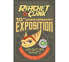 Ratchet & Clank 10th Anniversary Exposition Photographic Print