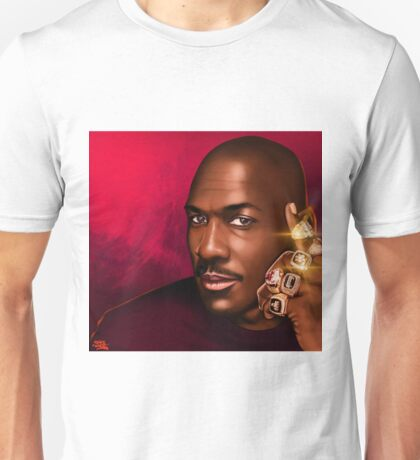 "MICHAEL JORDAN ""HIS ROYAL AIRNESS"" Unisex T-Shirt"