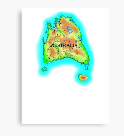 Tasmania's Australia Canvas Print