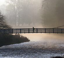 Misty Morning Peebles by photobymdavey