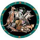 Australian fauna plate by David Fraser