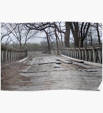 Troubled Bridge Poster