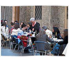 street dining Poster