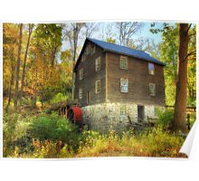 Millbrook Grist Mill Poster