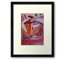 Semi Abstraction Framed Print
