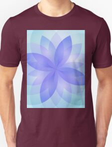 Abstract Lotus Flower Unisex T-Shirt