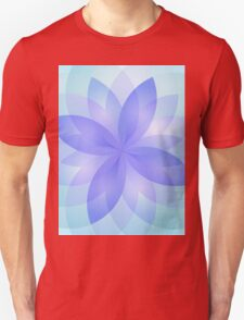 Abstract Lotus Flower T-Shirt