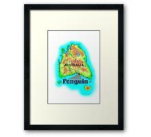 Penguin - Tasmania Framed Print