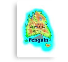 Penguin - Tasmania Canvas Print