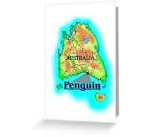 Penguin - Tasmania Greeting Card