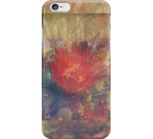 Cactus Flower Textured iPhone Case/Skin