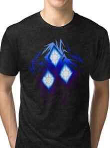 Shards of Rarity's Cutiemark Tri-blend T-Shirt