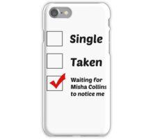 Misha Collins iPhone Case/Skin