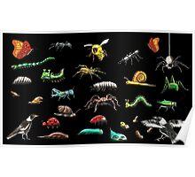 Creatures wallpaper Poster