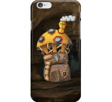 Yellow Steampunk Mushroom iPhone Case/Skin