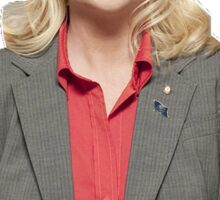 "Leslie ""Knope"" Sticker"