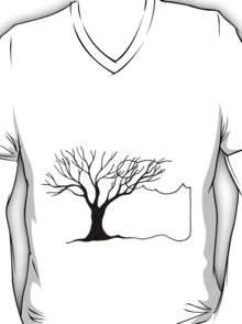 Tree and Cloud - Simple but Unique T-Shirt