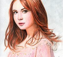 Amy Pond - Karen Gillan from Doctor Who saga by micheleamadesi