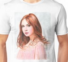 Amy Pond - Karen Gillan from Doctor Who saga Unisex T-Shirt