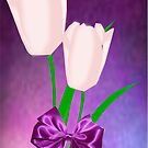 2 Pink Tulips (2324  Views) by aldona