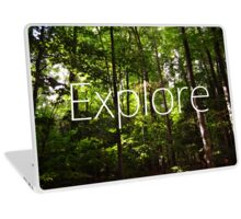 Forest // Silent In The Trees // Explore Laptop Skin