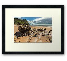 Sailors Grave Beach Framed Print