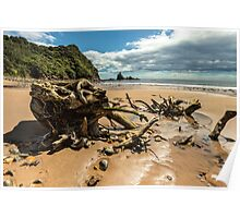 Sailors Grave Beach Poster