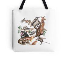 Aussie Fauna Tote Bag