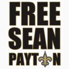 Free Sean Payton by PAGraphics