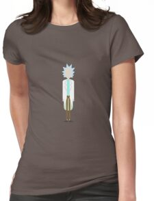 Minimalist Rick Womens Fitted T-Shirt