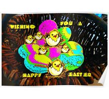 Happy Easter...card Poster