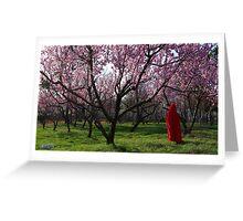 Enter Spring Greeting Card