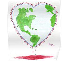 Witness Art - For God so Loved the World  Poster