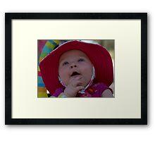 Bonnet Babe Framed Print