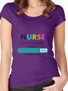 Nursing Student Humor Women's Fitted Scoop T-Shirt