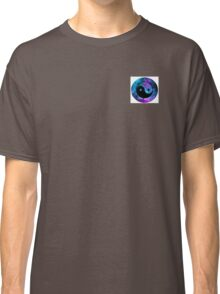 Galaxy styled ying yang sign Classic T-Shirt