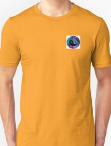 Galaxy styled ying yang sign Unisex T-Shirt