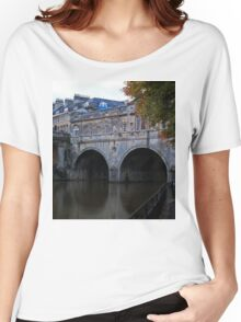 Pulteney Bridge- Color Women's Relaxed Fit T-Shirt
