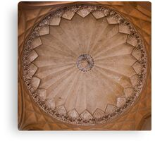 Tomb Ceiling Canvas Print