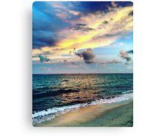 Canouan Island Beach Time Goodness Canvas Print